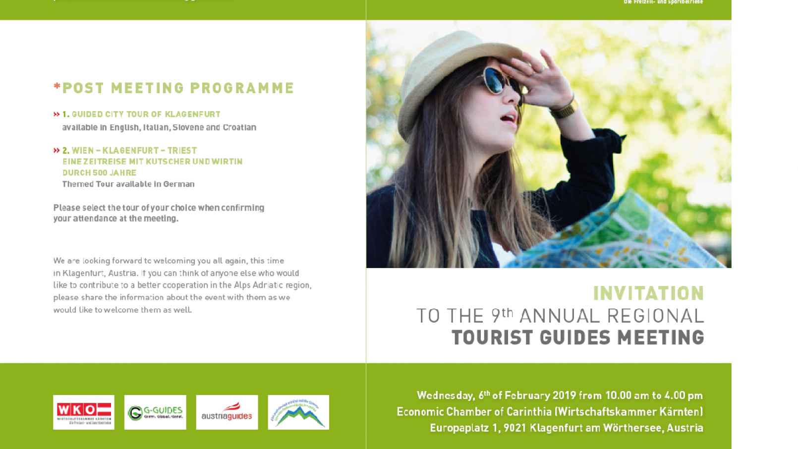 TOURIST GUIDES FOR DEVELOPMENT AND PARTNERSHIP IN THE ALPS